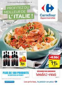 Carrefour folder: Profitez du meilleur de l'Italie : offres valables à partir du 21 février