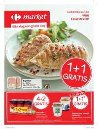 Carrefour folder: Elke dag een goeie dag : aanbiedingen geldig vanaf 09 augustus