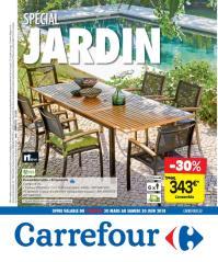 Carrefour folder: Special jardin : offres valables à partir du 30 mars