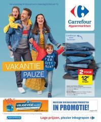 Carrefour folder: Vakantie pauze :  aanbiedingen geldig vanaf 14 februari