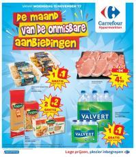 Carrefour folder: De maand van de onmisbare aanbiedingen : aanbiedingen geldig vanaf 15 november