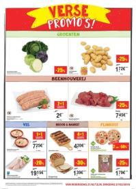Carrefour folder: Verse promo's : aanbiedingen geldig vanaf 21 februari