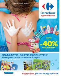 Carrefour folder: Grote vakantie actie