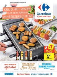 Carrefour folder: Krijg het warm met onze lekkere wintergerechten : aanbiedingen geldig vanaf 24 januari