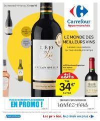 Carrefour folder: Le monde des meilleurs vin :  offres valables à partir du 14 mars