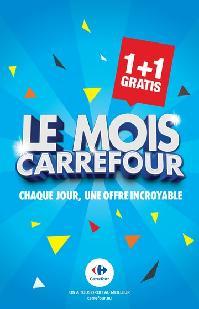Carrefour folder: Le mois Carrefour : chaque jour une offre incroyable