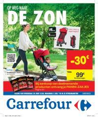 Carrefour folder: Op weg naar de zon : aanbiedingen geldig vanaf 20 juni