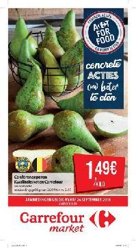 Carrefour folder: Concrete acties om beter te eten : aanbiedingen geldig vanaf 26 september