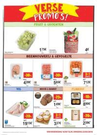 Carrefour folder: Verse promo's : aanbiedingen geldig vanaf 16 mei