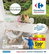 Carrefour folder: Geniet van het buitenleven