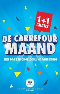 Carrefour folder: De Carrefour maand : elke dag een ongelooflijke aanbieding