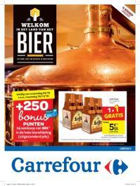 Carrefour folder: Welkom in het land van het bier : aanbiedingen geldig vanaf 24 oktober