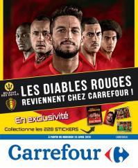 Carrefour folder: Les Diables Rouges reviennent chez Carrefour : offres valables à partir du 25 avril