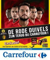 Carrefour folder: De Rode Duivels zijn terug bij Carrefour : aanbiedingen geldig vanaf 25 april