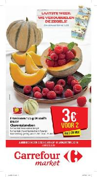 Carrefour folder: Carrefour market :  aanbiedingen geldig vanaf 15 augustus