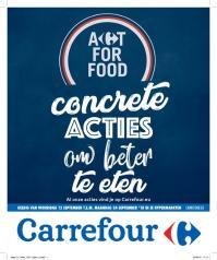 Carrefour folder: Concrete acties om beter te eten : aanbiedingen geldig vanaf 12 september