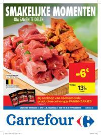Carrefour folder: Smakelijke momenten om samen te delen  :  aanbiedingen geldig vanaf 13 juni