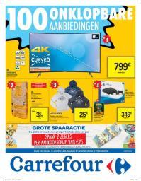 Carrefour folder: 100 onklopbare aanbiedingen : aanbiedingen geldig vanaf 14 augustus