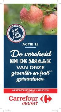 Carrefour folder: De versheid en de smaak van onze groenten en fruit garanderen : aanbiedingen geldig vanaf 10 oktober