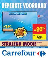 Carrefour folder: Beperkte voorraad :  aanbiedingen geldig vanaf 23 mei
