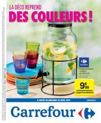 Carrefour folder: La déco reprend des couleurs : offres valables à partir du 25 avril